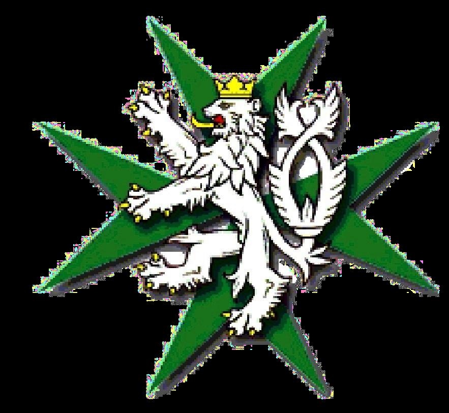 logo HOSPIC ŠTRASBURK jen lev na kříži_průhledné