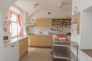 kuchyňka přípravna jídla